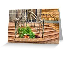 The Railings Greeting Card