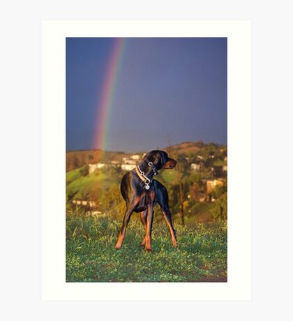 A Dog of Gold Art Print