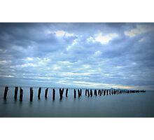 Old jetty, Clifton Springs  Photographic Print