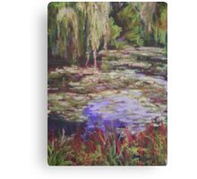 Monets Garden Canvas Print