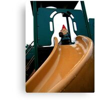 Playground Gnome Canvas Print