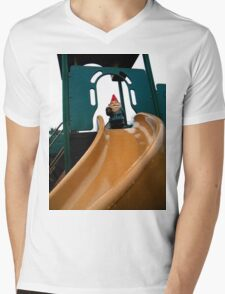 Playground Gnome Mens V-Neck T-Shirt