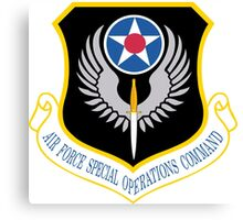 Air Force Special Operations Command (USAF) Canvas Print