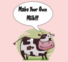 Make Your Own Milk!!! Kids Tee