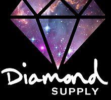 Diamond Supply Galaxy Diamond by ikillwithnostyl