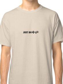 JUST DO GIT (logo) Classic T-Shirt