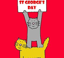 St George's Day Cats. by KateTaylor