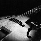 Vintage Harmony Guitar 505 by AnalogSoulPhoto