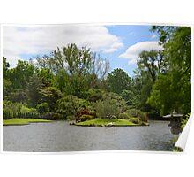 Japanese Garden View Poster
