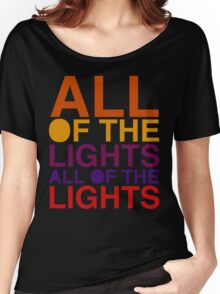 All of the Lights Color Women's Relaxed Fit T-Shirt
