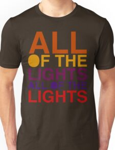 All of the Lights Color Unisex T-Shirt