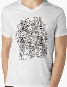 LSD Mens V-Neck T-Shirt