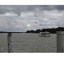 Cold Day at Mannum, South Australia. Photographic Print