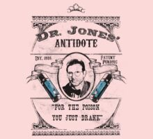 Dr. Jones' Antidote- Indiana Jones One Piece - Long Sleeve