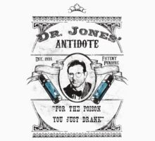 Dr. Jones' Antidote- Indiana Jones One Piece - Short Sleeve