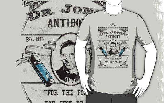 Dr. Jones' Antidote- Indiana Jones by spacemonkeydr
