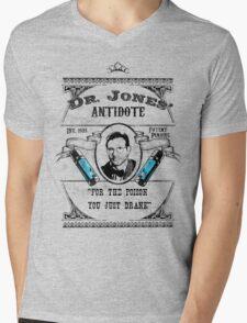 Dr. Jones' Antidote- Indiana Jones Mens V-Neck T-Shirt