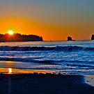 Neah Bay sunset by Rcantu