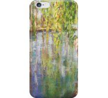 Willows, Lake Burley Giffin iPhone Case/Skin