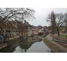 Strasbourg Canal Photographic Print