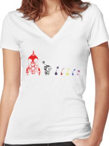 Plant Life Women's Fitted V-Neck T-Shirt