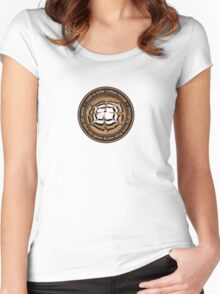 Cost-A-Latte Coffee House Women's Fitted Scoop T-Shirt
