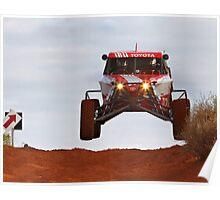 Car 14 - Finke 2011 Day 1 Poster