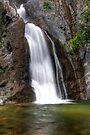 Fish Canyon Falls by Eddie Yerkish
