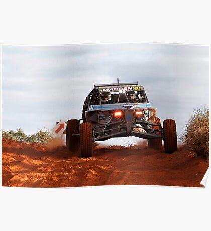 Car 81 - Finke 2011 Day 1 Poster