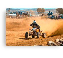Quadbike - Tattersalls Finke Desert Race 2011 Canvas Print