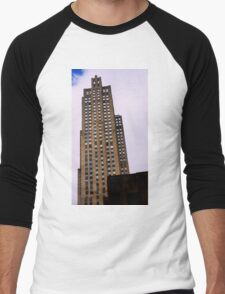 Rockefeller Tower Men's Baseball ¾ T-Shirt