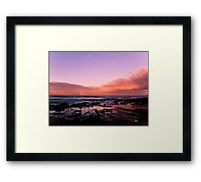 Sunset at Lorne VIC Framed Print