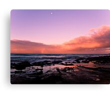 Sunset at Lorne VIC Canvas Print