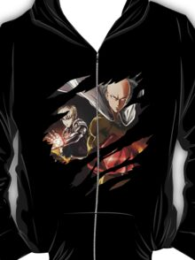 one punch man saitama genos anime manga shirt T-Shirt