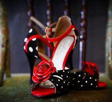 Miss C's Tango Shoes by Katherine Williams