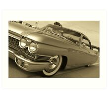 60 Cadillac Art Print