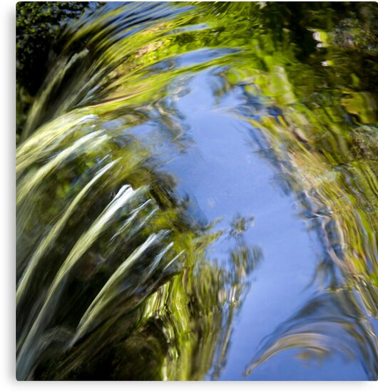 Watery Brush Strokes by Mark Ramstead