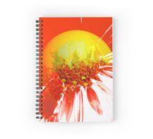abstract sun Spiral Notebook