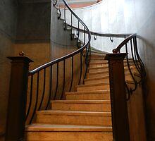descending/ascending... mind your step... by WonderlandGlass