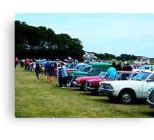 The Rally Line-up Canvas Print
