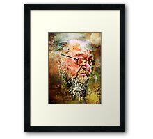 Wayward Son (Art & Poetry) Framed Print