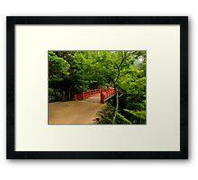 Miyajima Bridge Framed Print