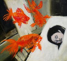 goldfish dreaming by donnamalone