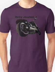 Harley Davidson Fatboy cartoon T-Shirt