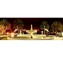 Fountains at Eastern Beach - Geelong Photographic Print