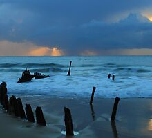 Shipwreck Sunrise 5 by Truenature