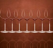 wineglass - graphic by Marlies Odehnal