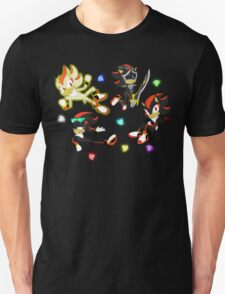 Shadow the Hedgehog Pattern Unisex T-Shirt