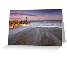 Sweeping Ocean Greeting Card