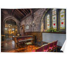 Church Piano Poster